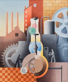 Paul Kelpe Man and Machinery #36, 1934  $275,000