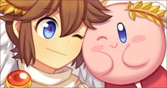 Chibi, Kid Icarus Uprising, Love Fight, Nintendo Characters, Metroid, Mega Man, Super Smash Bros, Yoshi, Fan Art