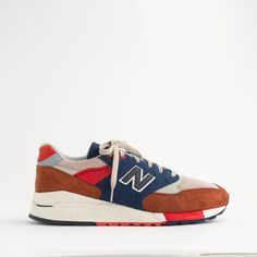 half off bc739 00abd New Balance ® for J.Crew 998 hilltop blues sneakers