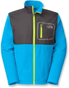 The North Face Male Peril Glacier Track Jacket - Boys'