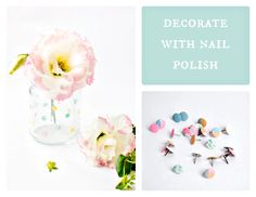 What can you decorate with nail polish? Co można udekorować lakierem do paznokci?