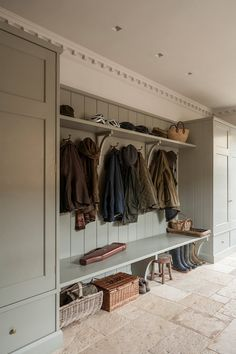 Country House Design, Country House Interior, Country Homes, Country Interiors, Country Kitchen Designs, Country Decor, Boot Room Storage, Boot Room Utility, Utility Room Designs