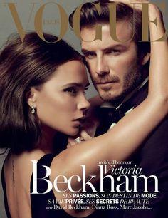 David Beckham et Victoria Chic pour Vogue magazine