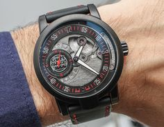 """Armin Strom Gumball 3000 Watch Collection Hands-On - by Rob Nudds - see the photo gallery & read more about each model: http://www.ablogtowatch.com/armin-strom-gumball-3000-watch-collection/ """"Collaborations between luxury watch brands and world-renowned sporting events are nothing new, but the products these unions sire are always worth examining. It's pretty tough to guess how a brand, especially those known for serious haute horlogerie, will tackle the task of fusing their ideology with…"""