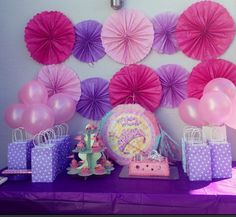 Princess party decor for my daughter.