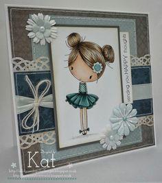 Kat's Cards: Let's get All Dressed up!