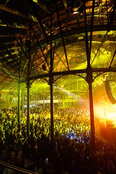 Roundhouse is going to have their own round stage in Lower Market Hall