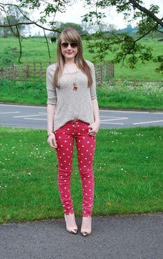 polkadot-jeans love 'em!