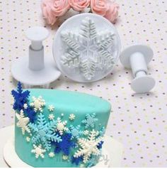 Snowflake Fondant Cutter, Frozen, Only $2.83   Free Shipping!