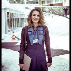 January 22, 2015, ♔♛Queen Rania of Jordan♔♛...