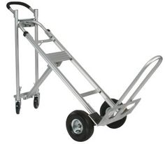 Wesco Spartan 3 Position Hand Truck - High quality hand trucks for the lowest price! Look no further top notch hand trucks. Flat Bed Trolley, Curb Ramp, Moving Blankets, Moving Supplies, Truck Bed, Convertible, Trucks, Hands, Tricycle
