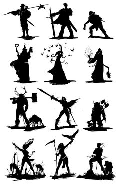 silhouette design by cuculus