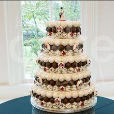 cake balls wedding cake!