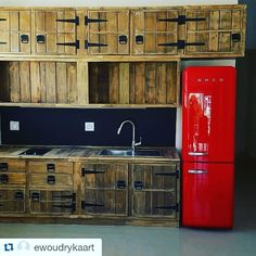#pallets #kitchen  #repost @ewoudrykaart