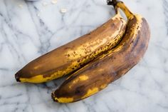 While not much to look at on the outside, a brown banana is actually a beautiful thing. It might not be good to eat on its own, but strip away its mottled skin, and its sweet and mushy innards are ideal for using in a multitude of recipes, particularly of the snacking kind.