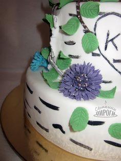 Cake cornflower birch https://vk.com/svetkintort