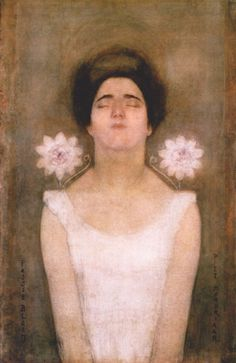 Piet Mondrian, Passionflower, 1908.  Art Experience NYC  www.artexperiencenyc.com/social_login/?utm_source=pinterest_medium=pins_content=pinterest_pins_campaign=pinterest_initial