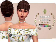 Primis Hair - The Sims 4 Download - SimsDom RU