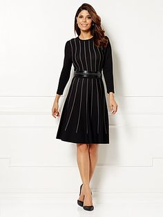 Shop Eva Mendes Collection - Phoebe Sweater Dress. Find your perfect size online at the best price at New York & Company.