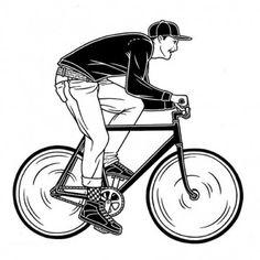 Graffiti, tattoo, illustrazioni e bici Cycling Art, Track Cycling, Self Portrait Drawing, Mike Giant, Bikes Games, Giant Bikes, Bike Drawing, Graffiti Tattoo, Bike Illustration