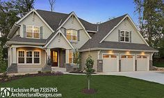 6 bed, 6,000 square foot Exclusive House Plan 73357HS comes with a sort court in the finished lower level. Ready when you are. Where do YOU want to build?