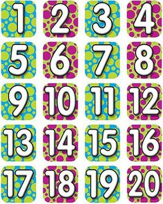 graphic regarding Printable Numbers 1 30 titled 63 Least difficult Quantity Chart illustrations or photos within just 2016 Free of charge printable