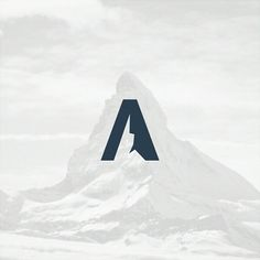 A letter mountain  #logo #mountains #forsale #modaltampang #graphicdesign #logodesigner #designs #designer #peak #matterhorn #alps #logoinspire #logoinspiration #logoinspirations #logoplace #vector #letterA #art #a #gunung #gunungkembar