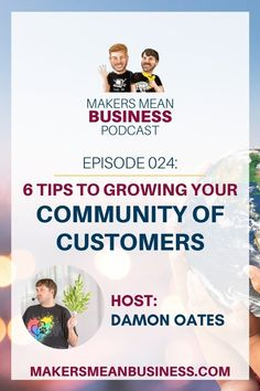 Check out these 6 strategic steps to grow your community of customers. When You Know, Told You So, My Community, Perfect People, How To Make Wreaths, How To Raise Money, Helpful Hints, Online Business, Learning