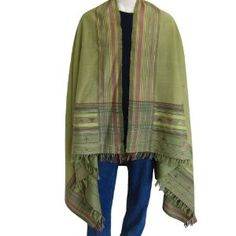 Prayer Shawls and Wrap Mens Accessories in Wool 88 Inches X 48 Inches (Apparel)