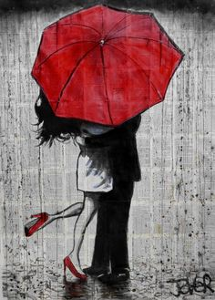 Big Red Umbrella