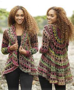 Fall Festival Free Crochet Jacket Pattern ⋆ Crochet Kingdom