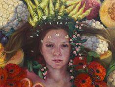 Alonsa Guevara's Lush Oil Paintings Offer Imaginary Rites