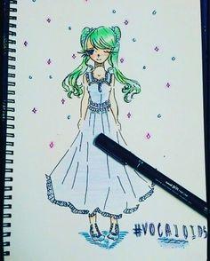 Drew Miku #Vocaloids #Fandom!