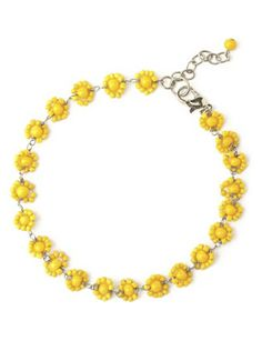 Sunflower Anklet | Fashion Bug