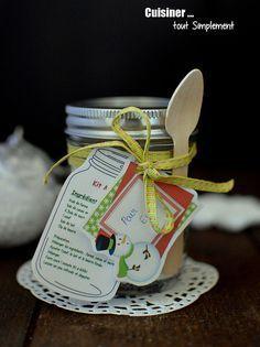 Kit Mug Cake pour cadeau gourmand - Cuisiner... tout Simplement, Le Blog de cuisine de Nathalie
