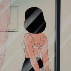 Cartoon Profile Pictures, Cartoon Pics, Girl Cartoon, Aesthetic Vintage, Aesthetic Girl, Aesthetic Anime, Arte Indie, Japon Illustration, Old Anime