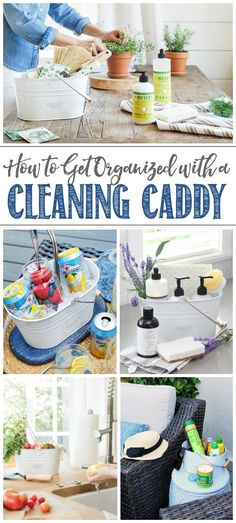How to Use a Caddy to Get Organized