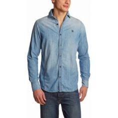 G-star- Chemise en jeans - Homme...sur www.shopwiki.fr ! #chemise_jeans #vetement_homme #mode_homme