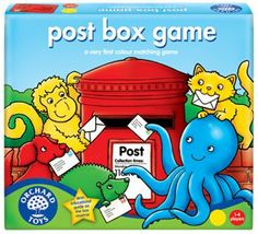 Orchard Toys Post Box Game: Amazon.co.uk: Toys & Games