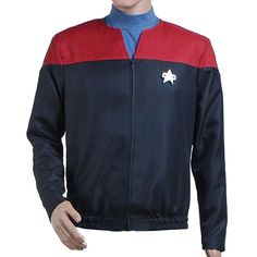 Halloween Costume Star Trek Voyager Kathryn Janeway Tom Paris Command Jacket