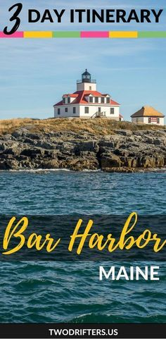 3 Days in Bar Harbor & Acadia National Park: An Itinerary A travel guide to spending 3 days in Bar Harbor and Acadia National Park. Enjoy Bar Harbor, where you'll experience the best of Maine's most stunning coast. Bora Bora, Tahiti, Places To Travel, Travel Destinations, Places To Go, Travel Stuff, Acadia National Park, National Parks, Maine Road Trip