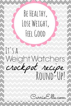 Weight Watchers Crock Pot Recipes - through this post you'll find links to over 200 recipes as well as Weight Watchers blogs.