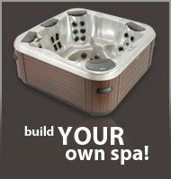 Bullfrog Spas lets you design your own hot tub with the jetted massages that work best for you.