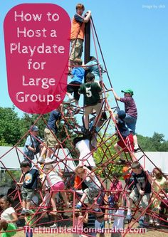 Most moms long for fellowship and togetherness. Be the mom to step up and host a playdate. You'll be glad you did.