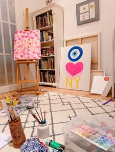 Art Alevel, Dorm Art, Small Canvas Art, Fashion Wall Art, My New Room, Wall Collage, Cute Art, Art Inspo, Art Projects