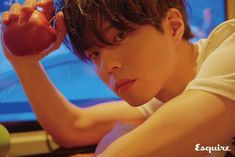 """Photographer Kim Hee June released a series of photos of Park Bo Gum for the newest issue of """"Esquire Korea."""" The images beautifully convey Park Bo Gum's charm as he relaxes in Milan, Italy at a hotel or when he's outside walking a dog. Asian Actors, Korean Actors, Roaring Currents, Cantabile Tomorrow, Park Bogum, Moonlight Drawn By Clouds, Korea News, 2012 Movie, Korean Entertainment"""