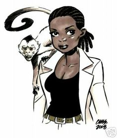 Agent 355 from Y The Last Man - By Cameron Stewart