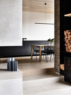 Jackson Clements Burrows Architects celebrate the enduring foundations of a heritage home through a bold addition made with the same trusted materials. Decor, Room, Home, House Exterior, Living Room Shelves, Red Brick House Exterior, Brick Living Room, Interior Design Awards, Red Brick House