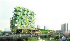 Project: Consours Réinventer Paris Architect/Client: X-TU Architects Location: Bizerte - Tunisia