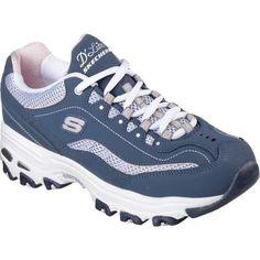 f191342cced5 Skechers Women s D lites Life Saver Sneaker Navy White